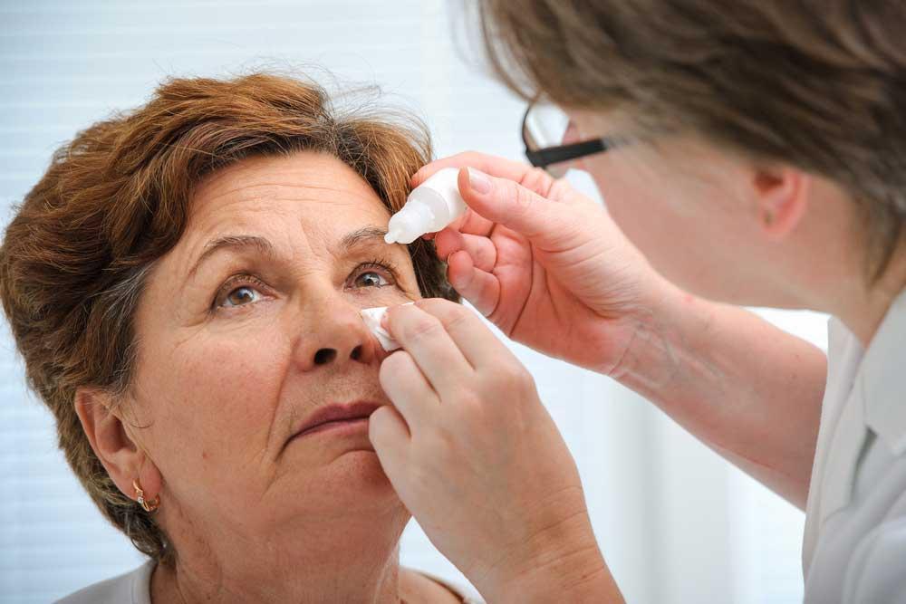 Glaucoma eye drops